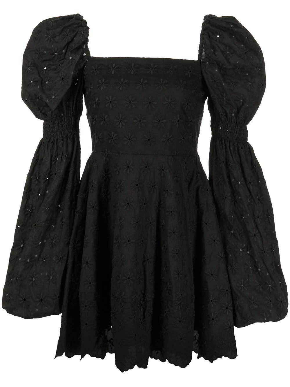 Wren Eyelet Dress Item # D366EYLS21