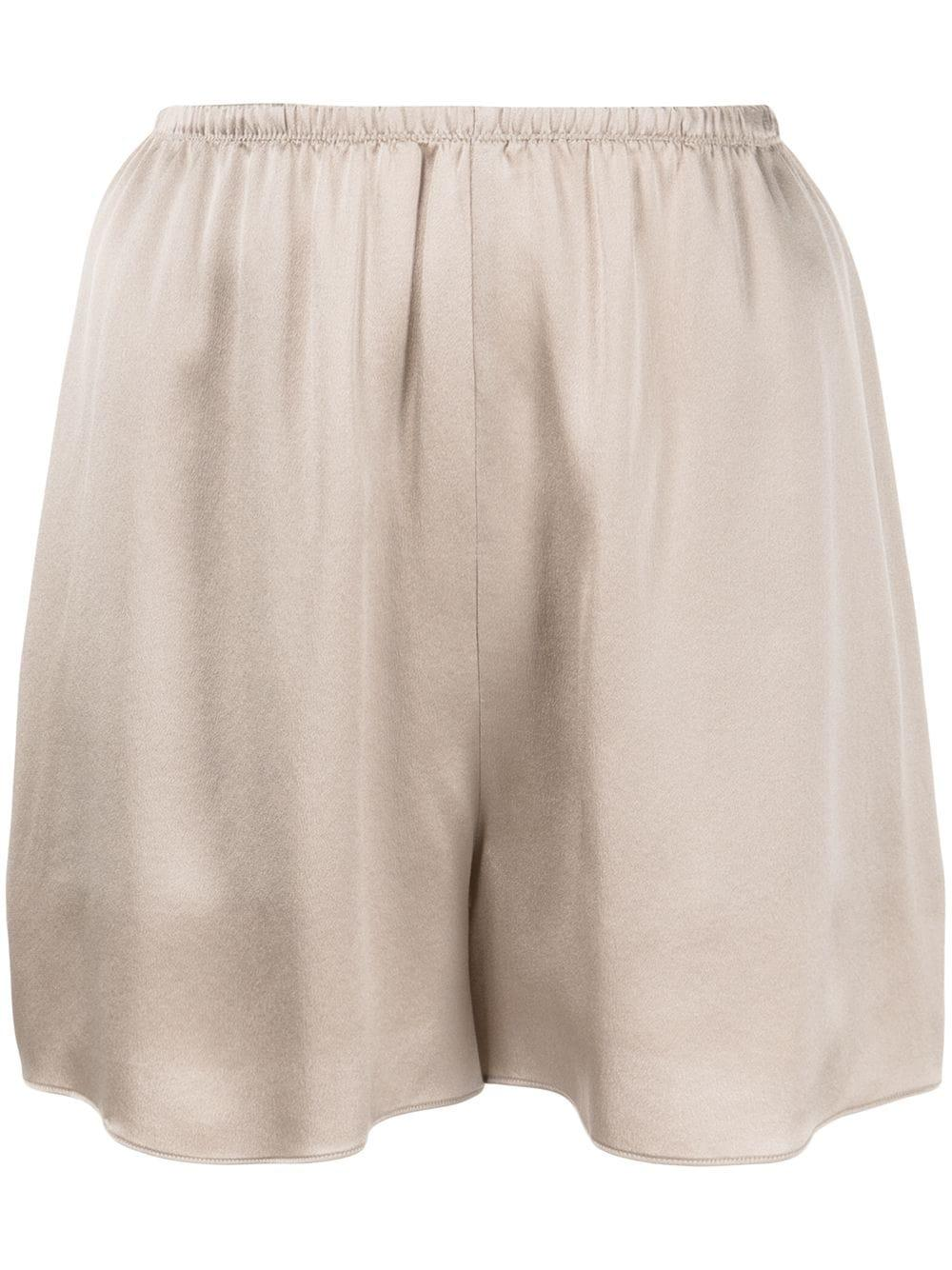 Satin Pull on Shorts