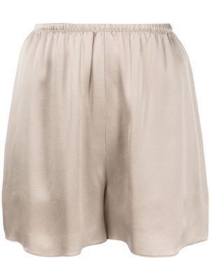 Satin Pull on Shorts