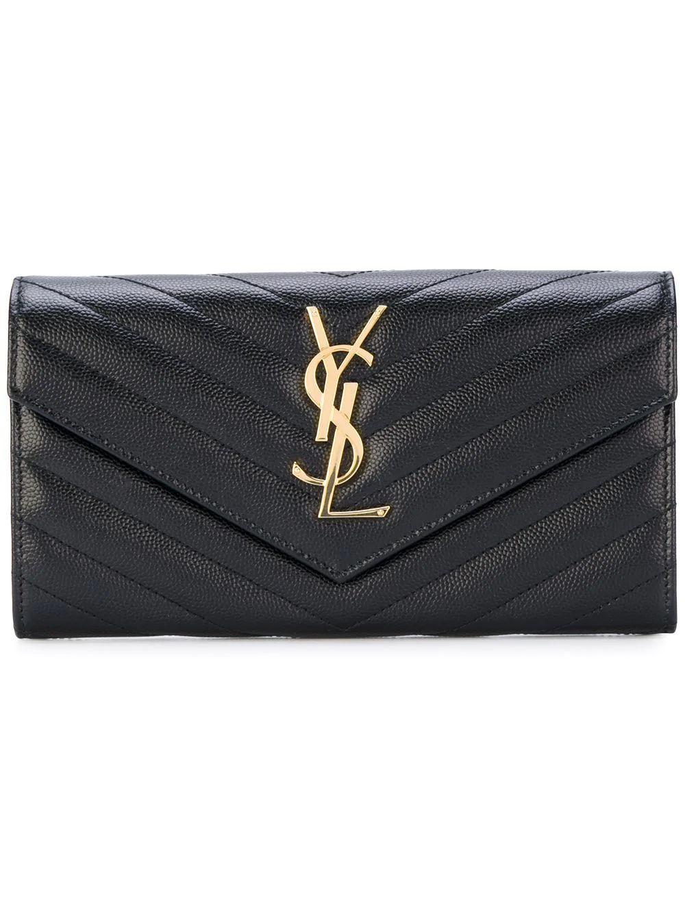 Large Monogram Wallet