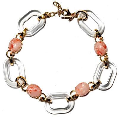 Coral Club Link Necklace