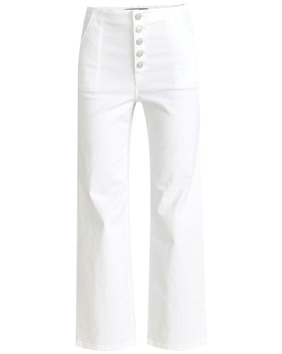 Crosbie Wide Leg Jean Item # J21047770900WH