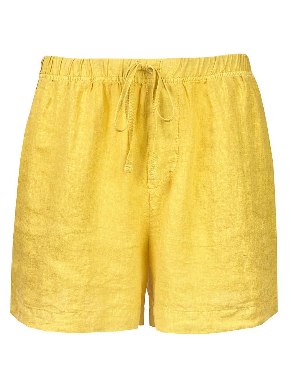 Linen Drawstring Shorts Item # TAMMY04