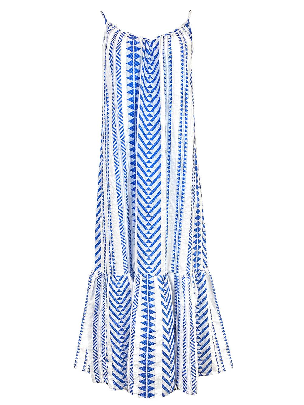 Dinae Jacquard Tiered Dress Item # DINAE04