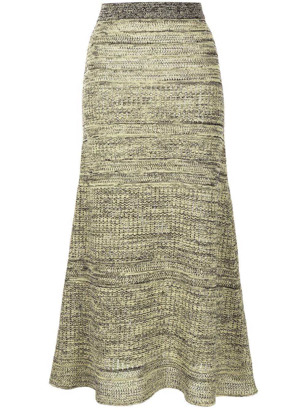 Knit Midi Skirt Item # WL2137643