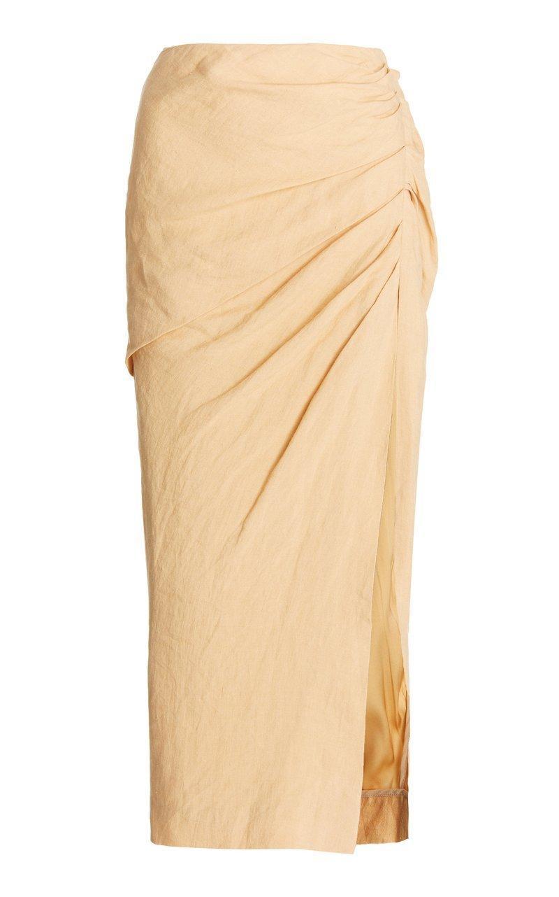 Hayden Linen Skirt Item # 321-3018-H