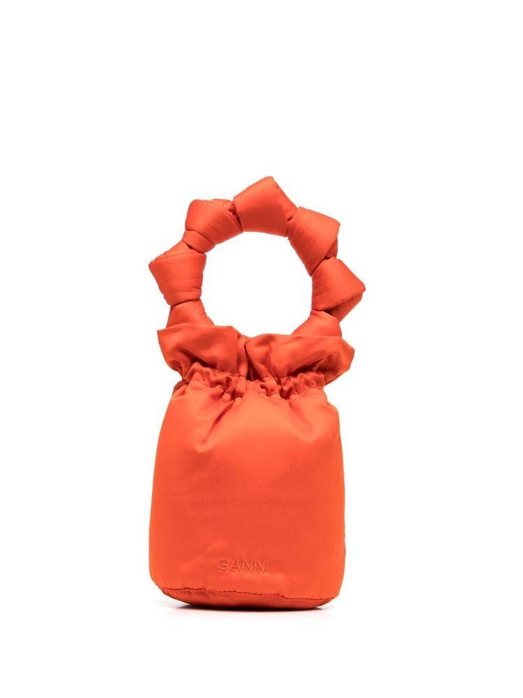 Satin Bucket Bag
