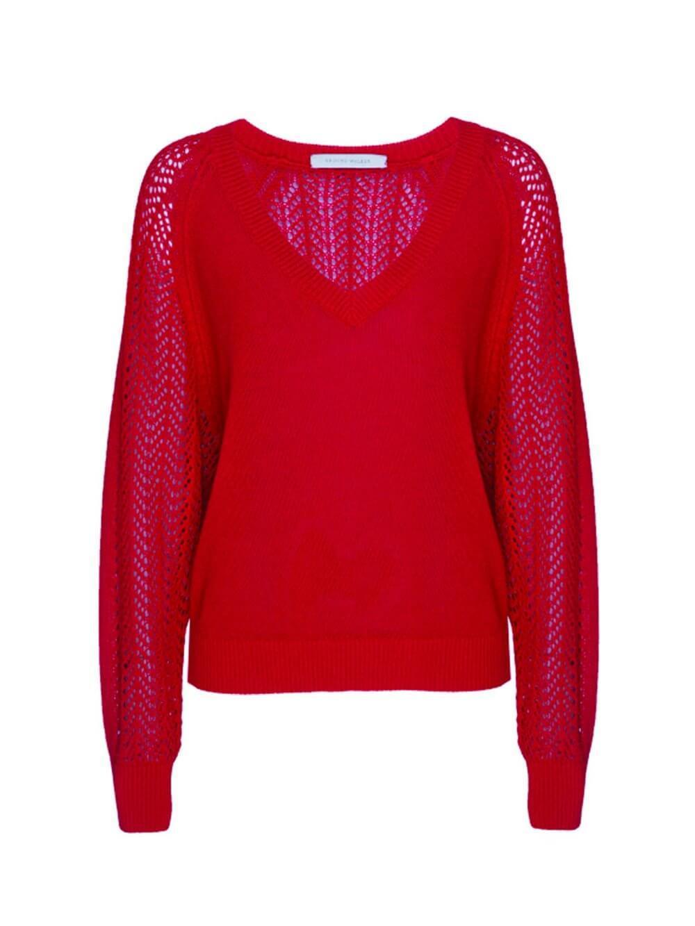 Ami Lace Sweater