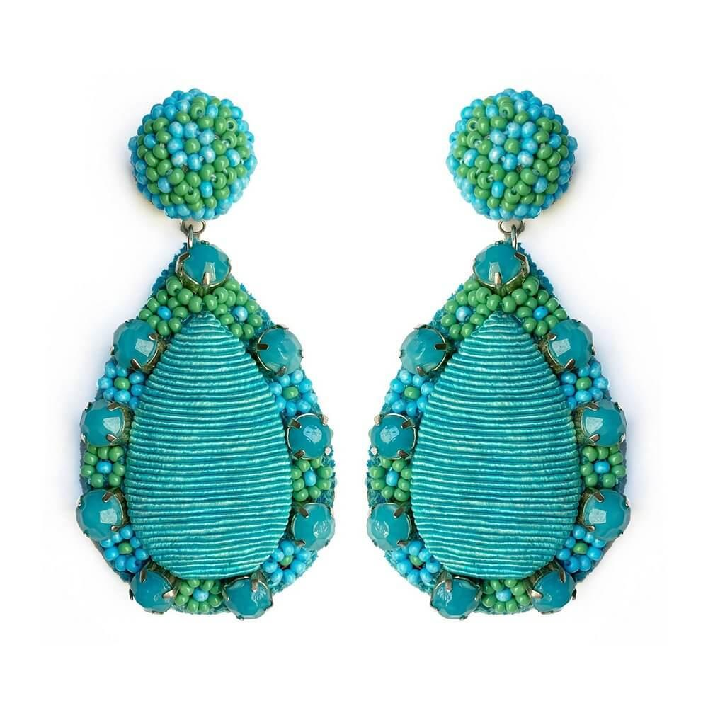 Marguerite Teardrop Earrings