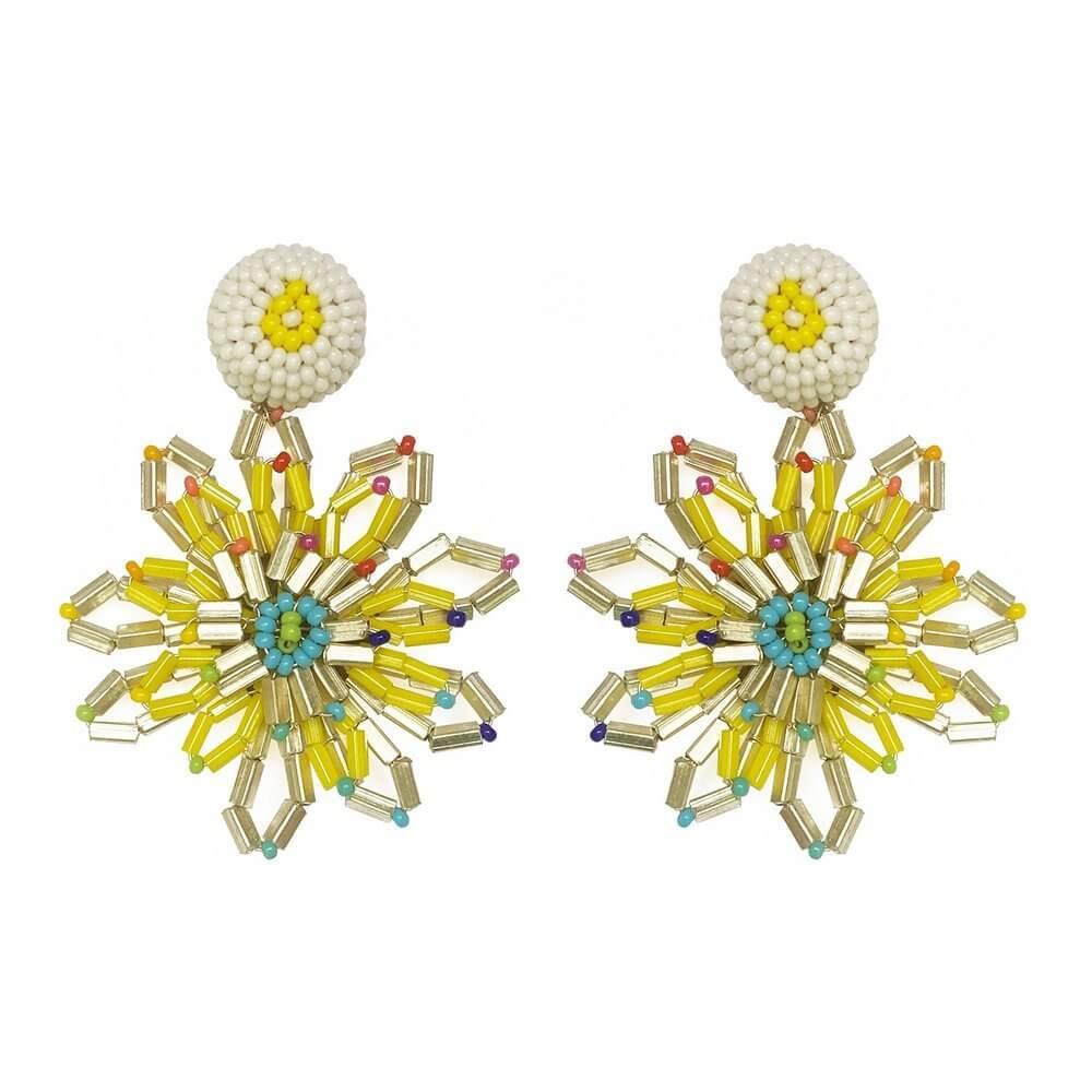 Starburst Flower Earrings