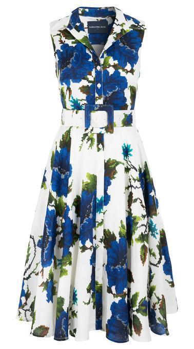 Gigi Floral Shirt Dress