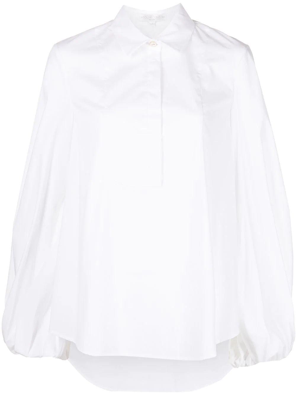 Kensley Puff Sleeve Shirt Item # T396ISSS21-S21