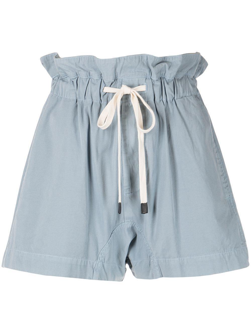 Canvas Paper Bag Shorts