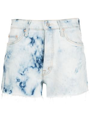 The Tomcat Tie Dye Kick Fray Shorts