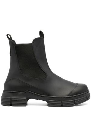 Recycled Rubber Chunky Bootie