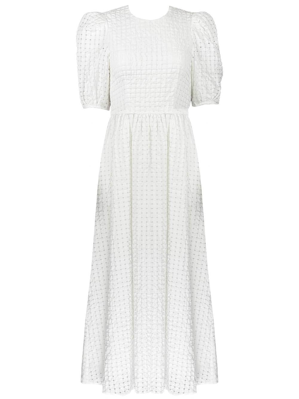 Rowan Seersucker Dress Item # 21SPD33