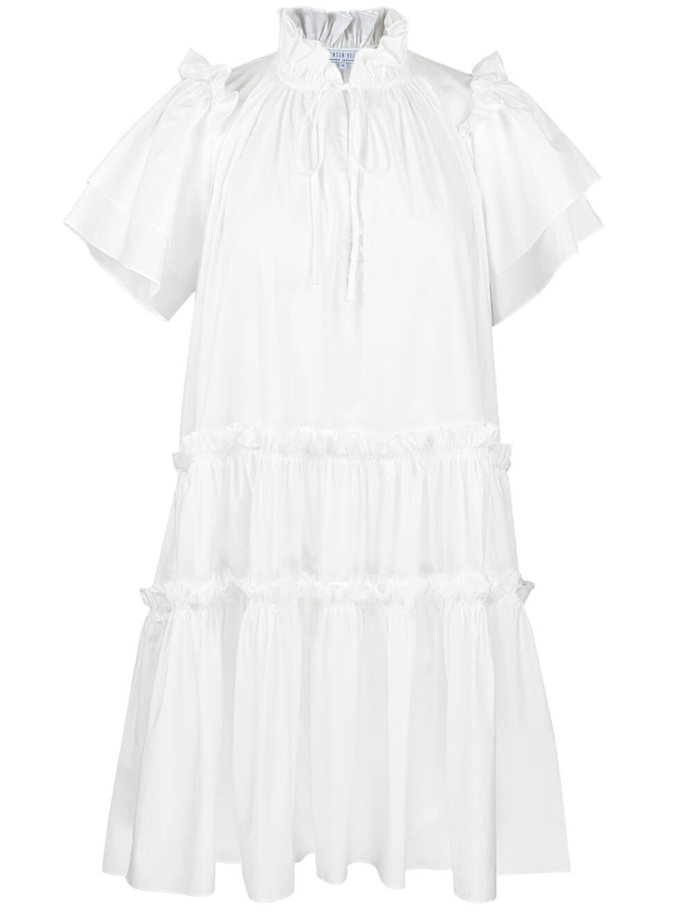 Merritt Tiered Cotton Dress