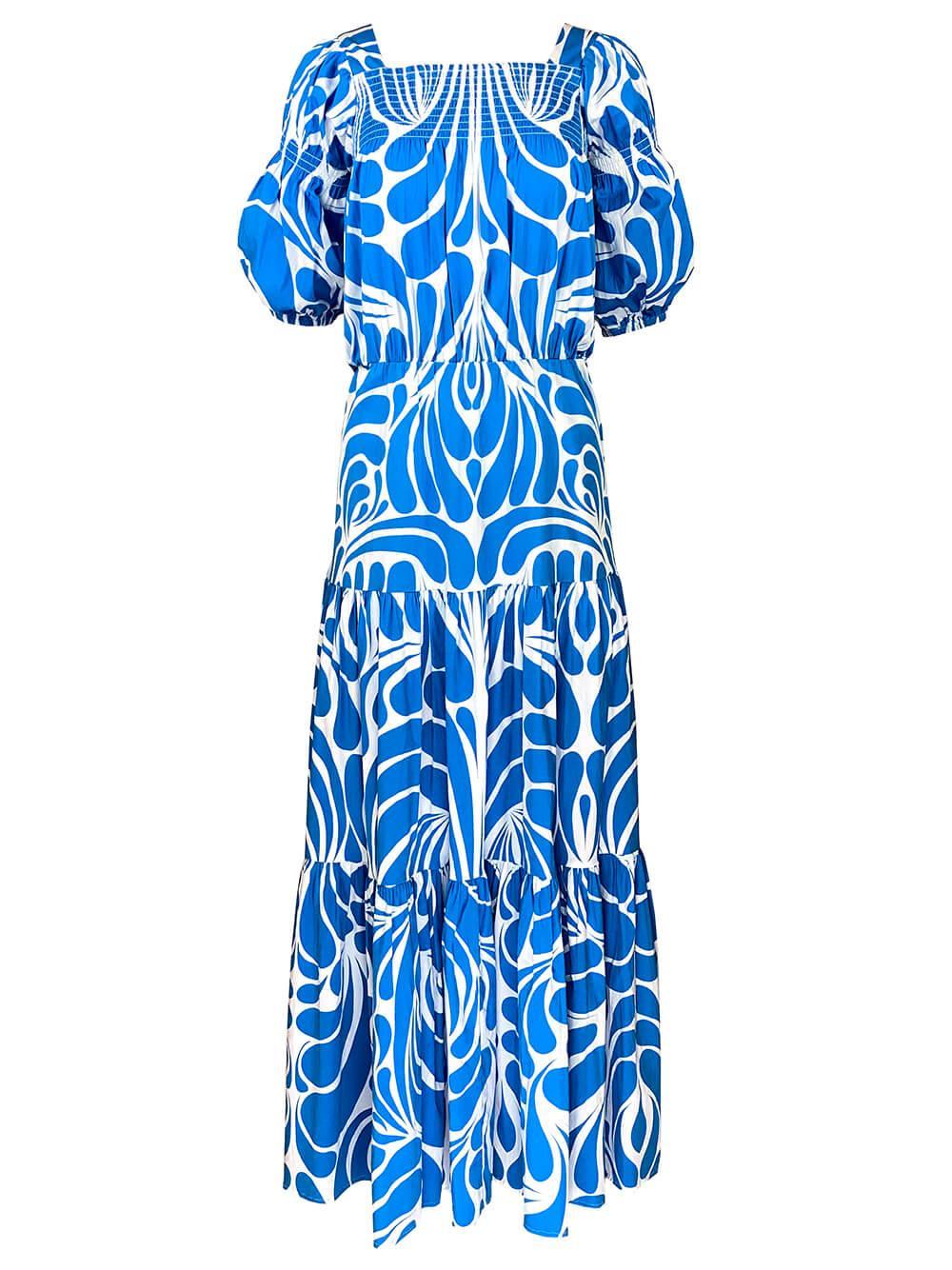 Isabell Printed Maxi Dress