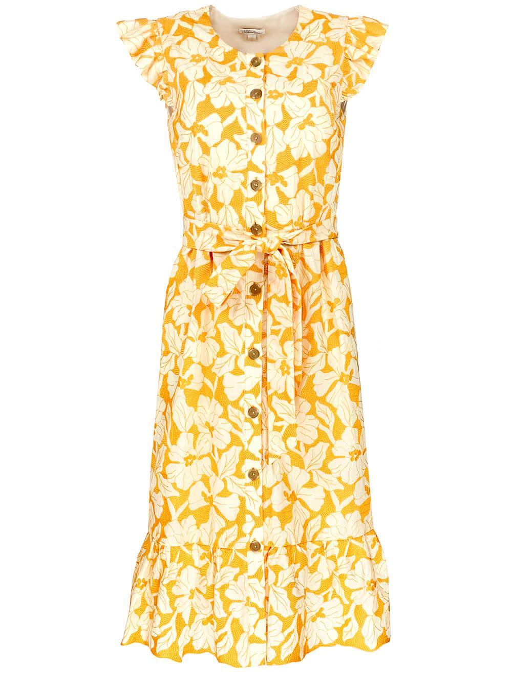 Della Embroidered Cotton Dress