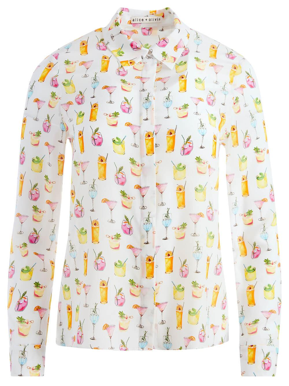Willa Cocktail Printed Top
