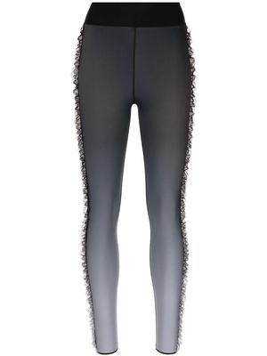 Gradient Lilac Magenta Leggings