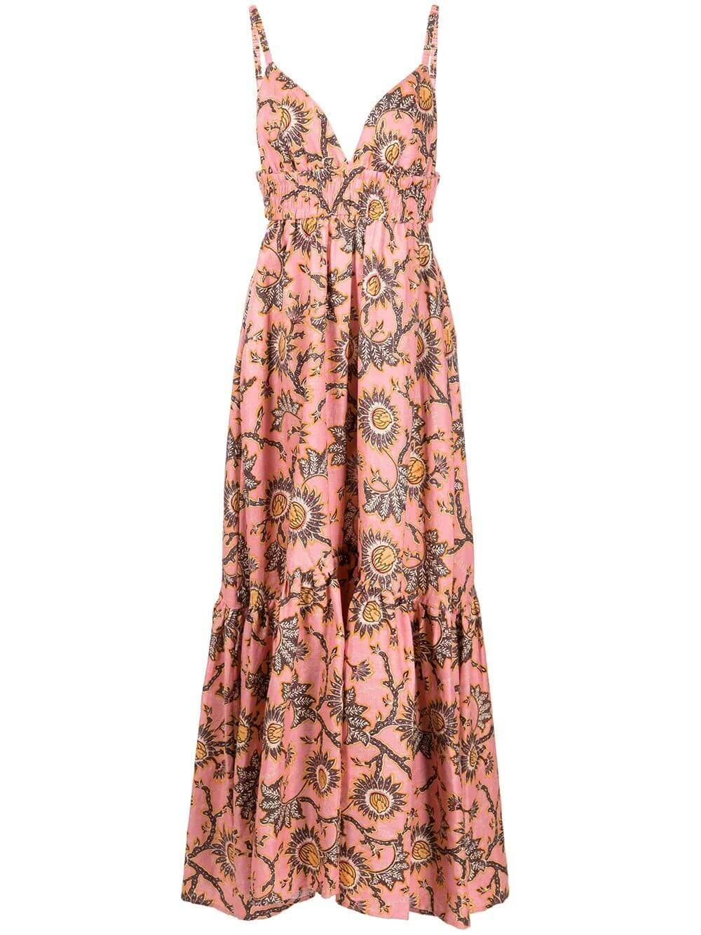 Printed Rhodes Dress