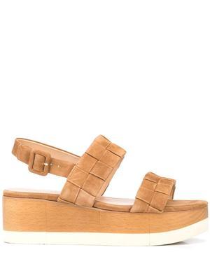 Wendi Platform Suede Sandal
