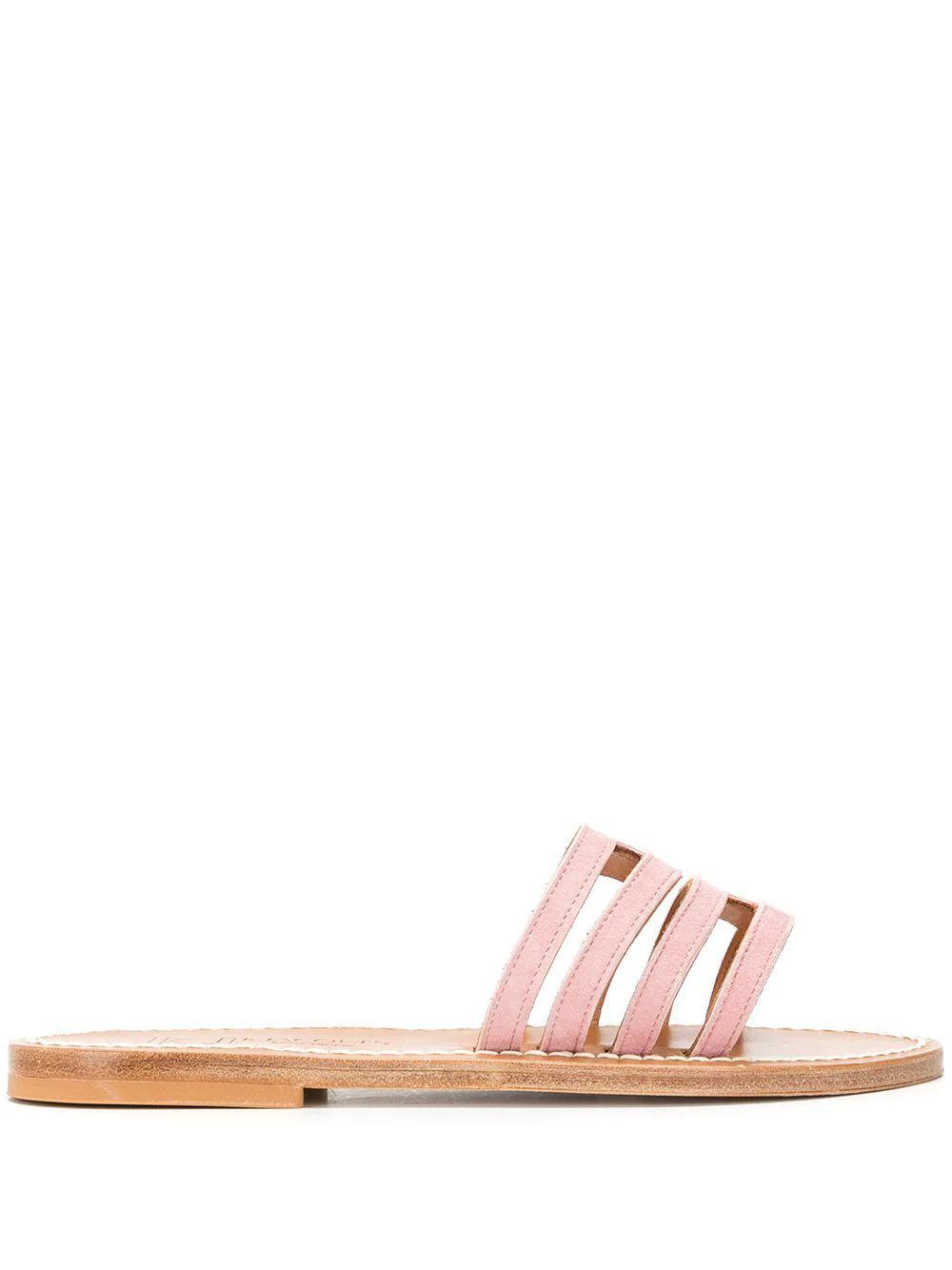 Hekla Suede Slide Sandal Item # HEKLA