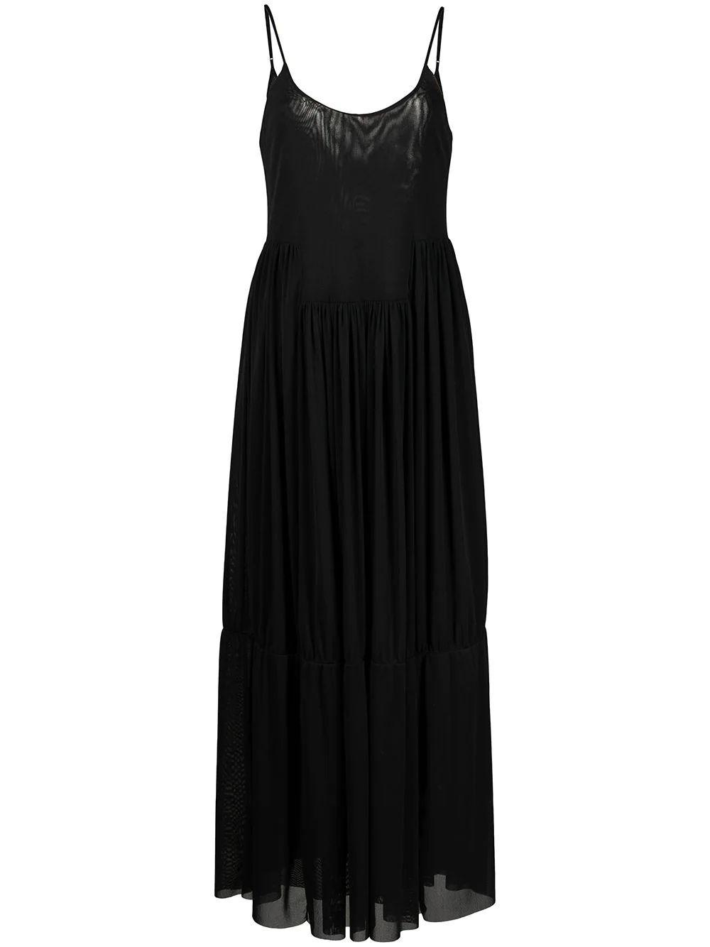 Gathered Cami Maxi Dress Item # V7535-83471