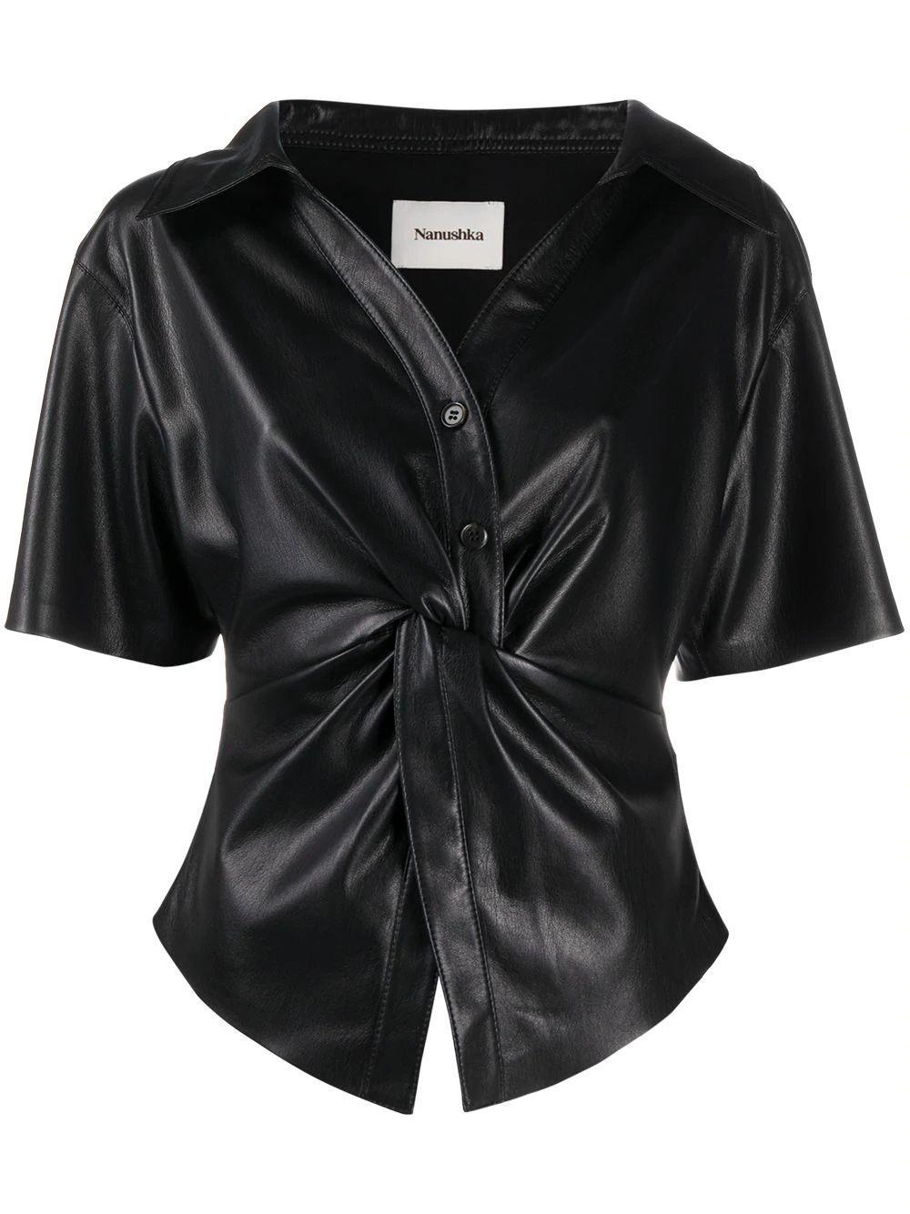 Thora Twist Waist Shirt Item # NW21SSSH00899
