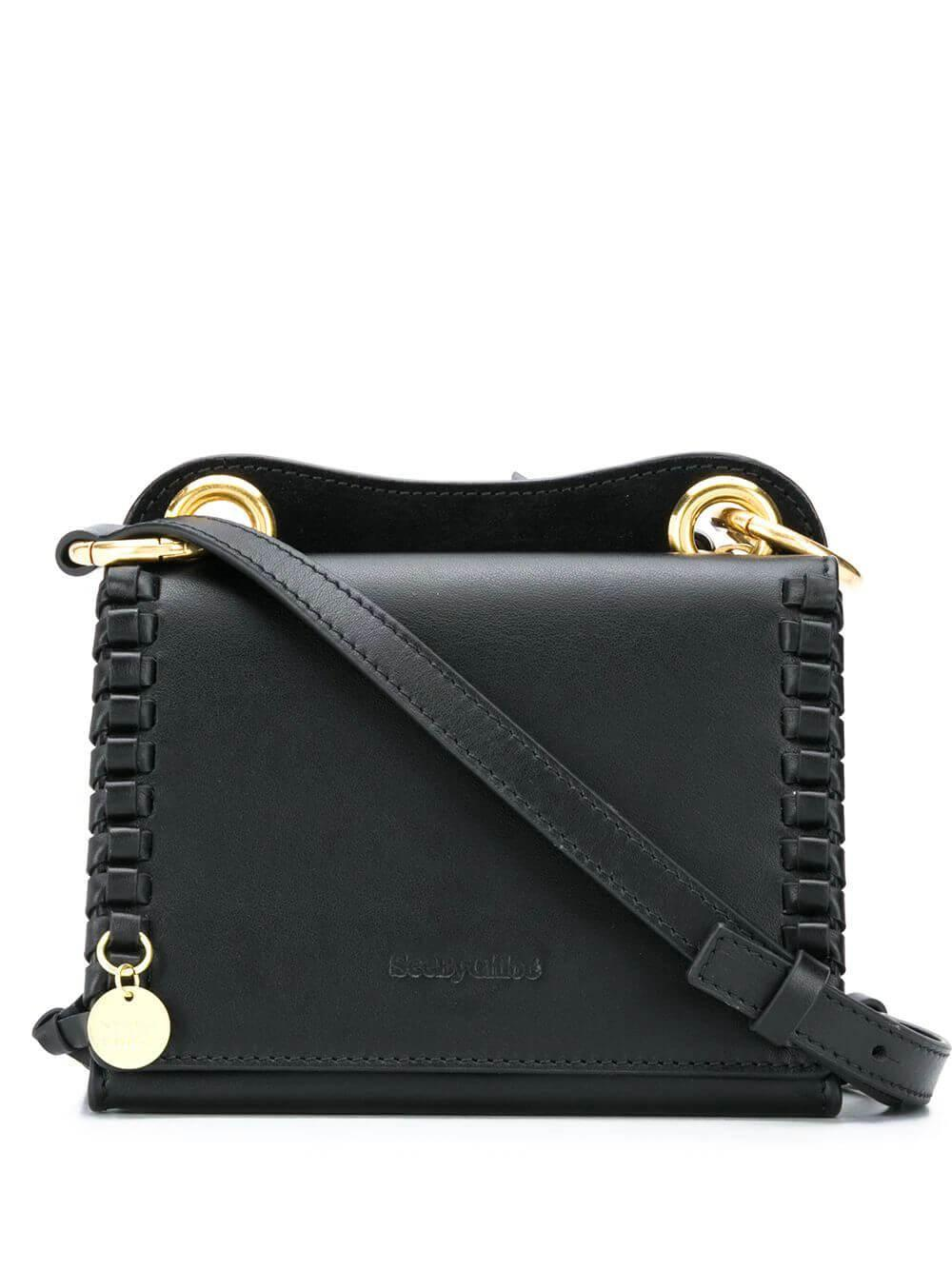 Small Crossbody With Whipstitch Detail Item # CHS20ASA68695