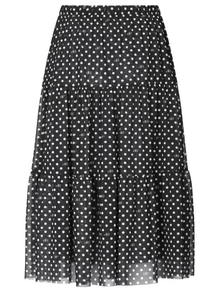 Jucile Mesh Midi Skirt
