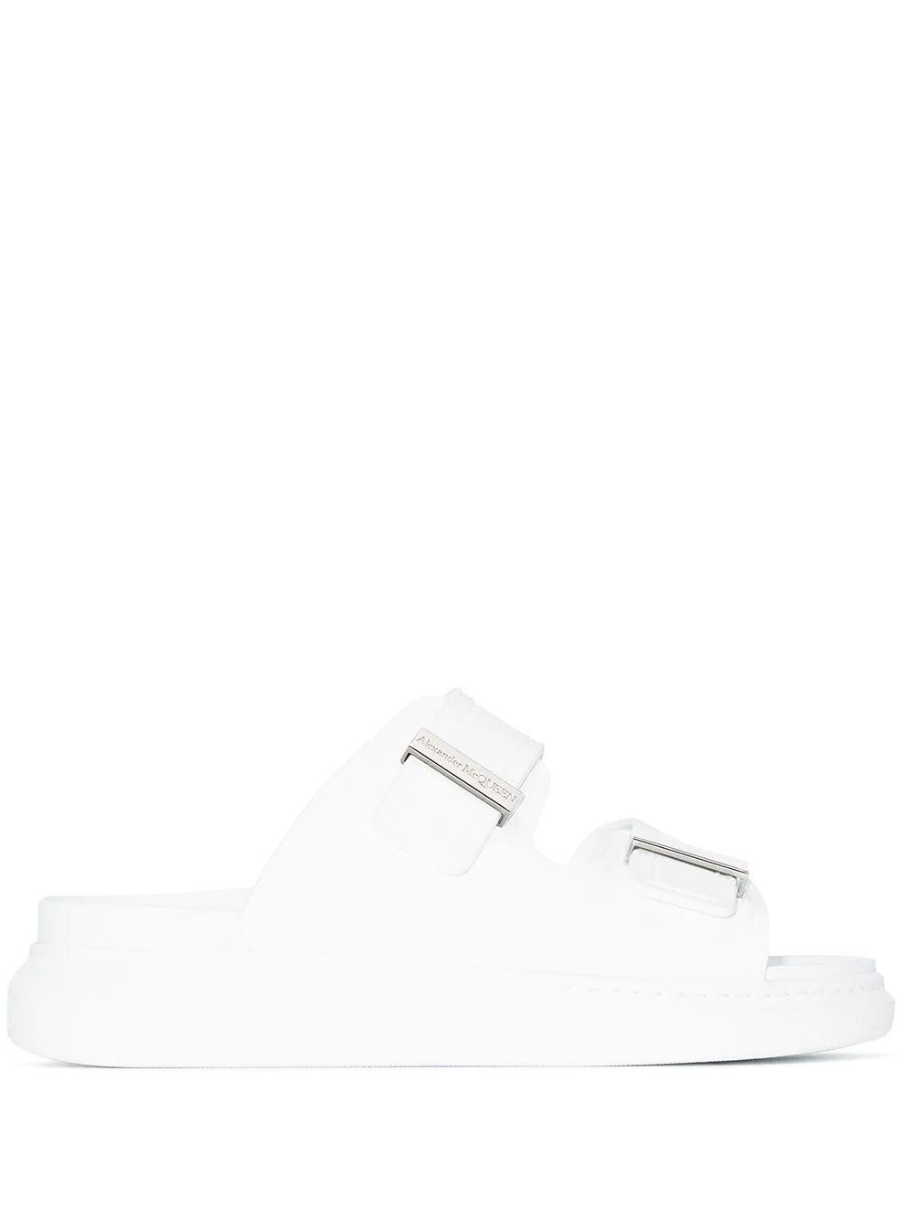 Double Thick Strap Slide Sandal