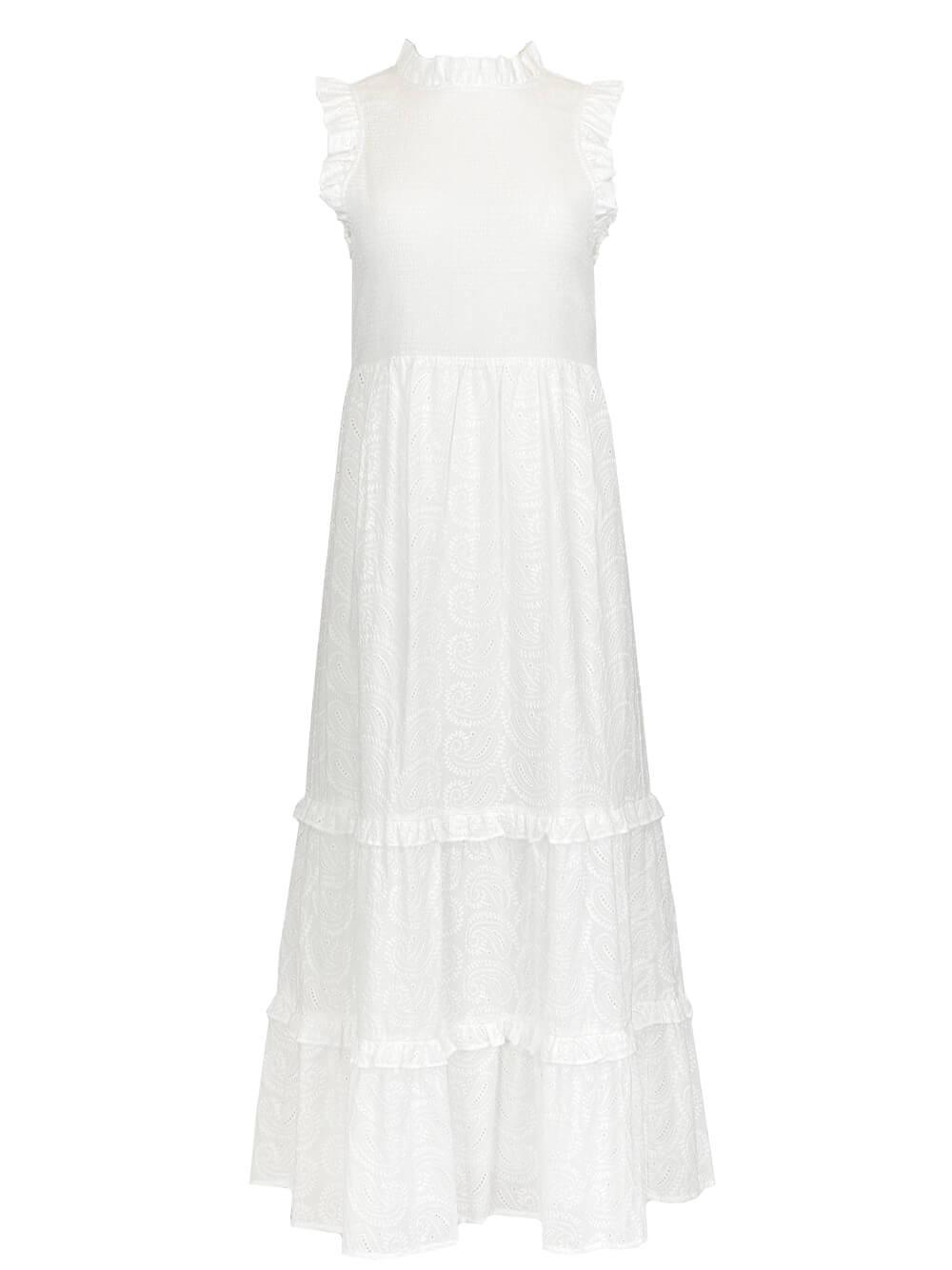 Quinnlyn Eyelet Maxi Dress