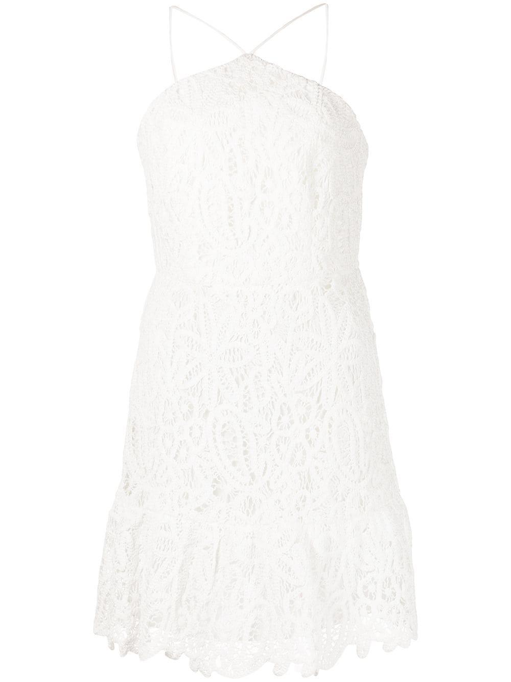 Dyan Crochet Halter Dress