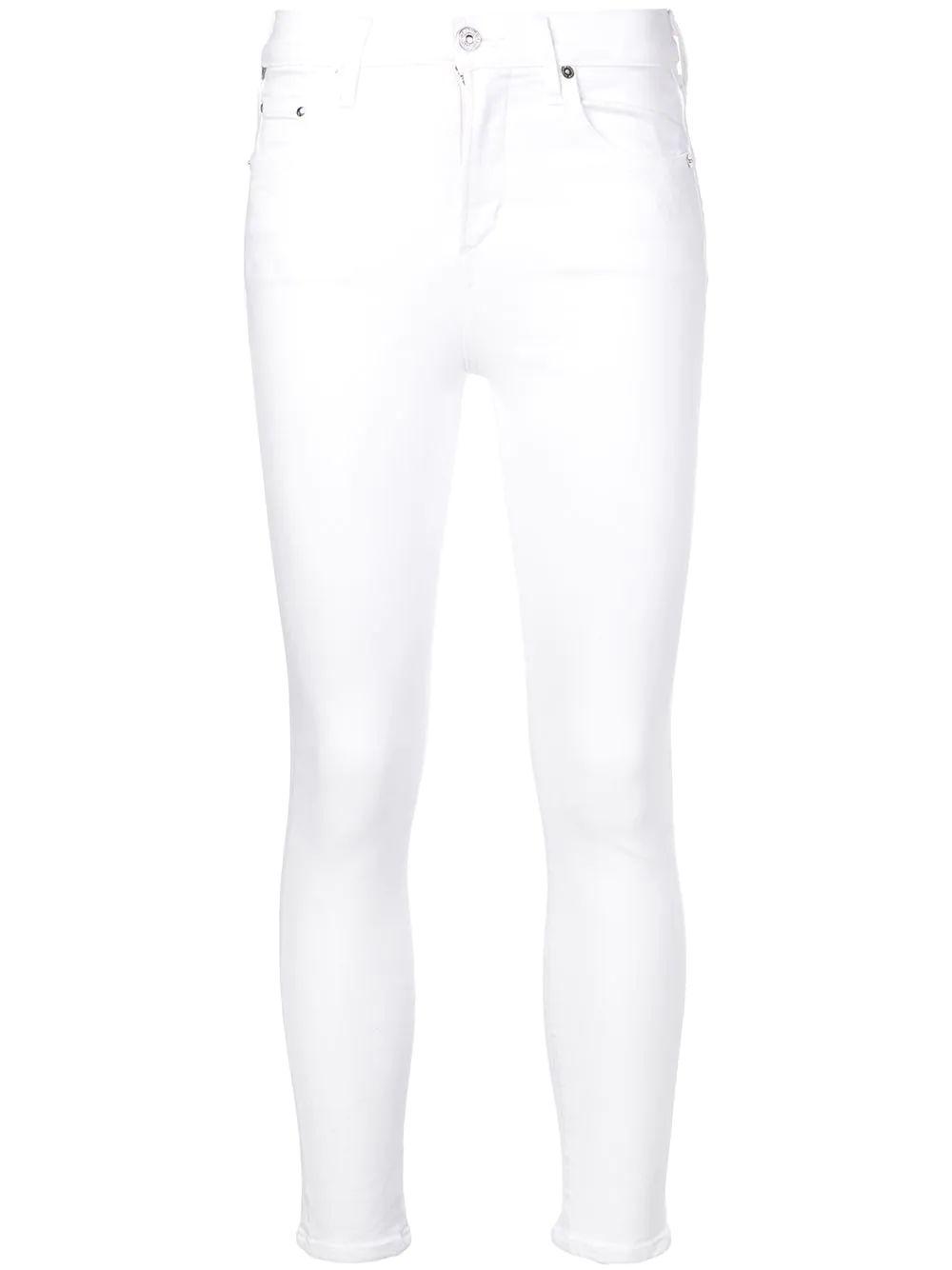 Rocket High Rise Cropped Skinny Jean Item # 1487-1106-S21