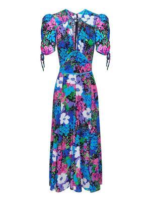 Midnight Radio Midi Dress
