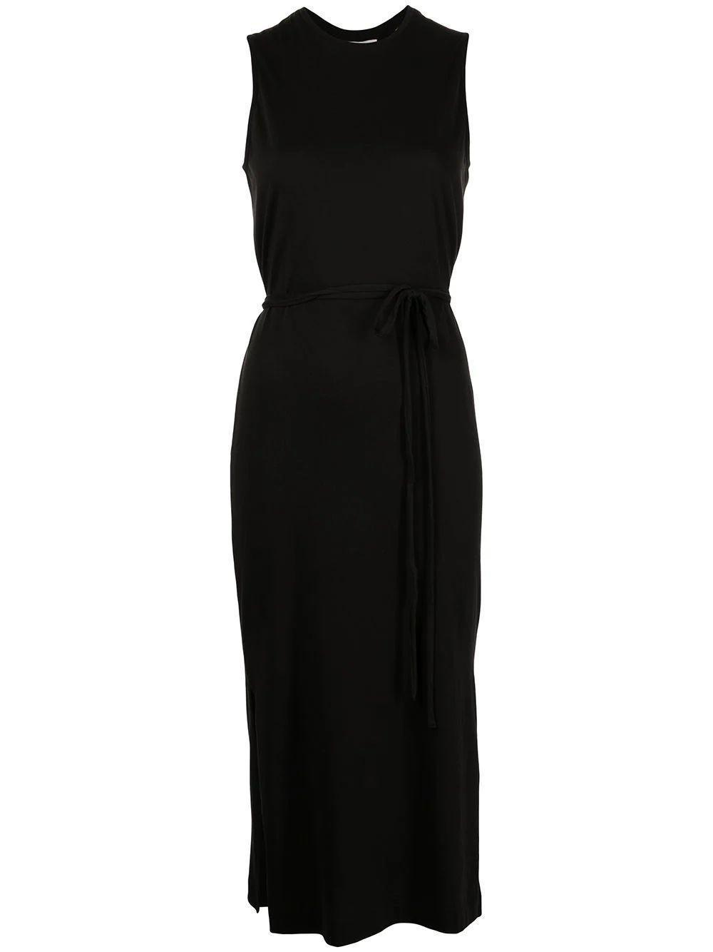 Tie- Waist Midi Dress Item # V753683490