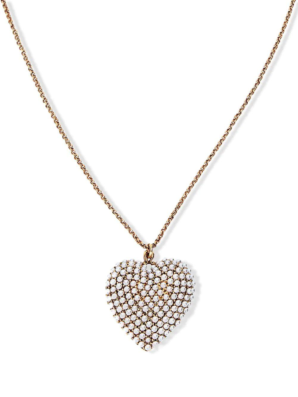 Greta Heart Pendant Necklace Item # 111PA13