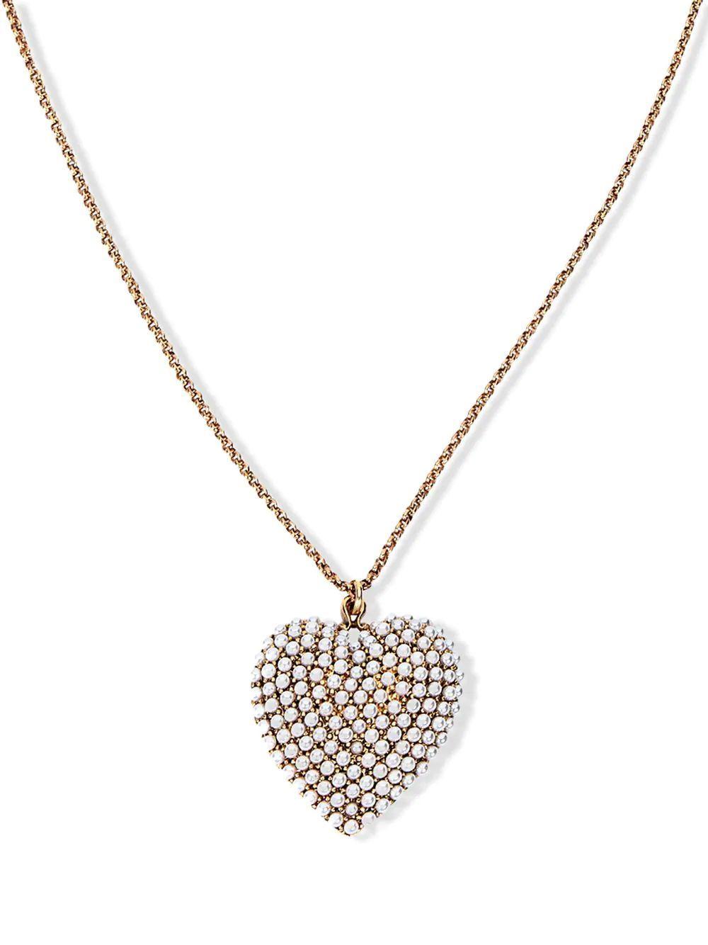 Greta Heart Pendant Necklace
