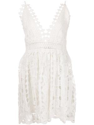 Evana Lace Mini Dress