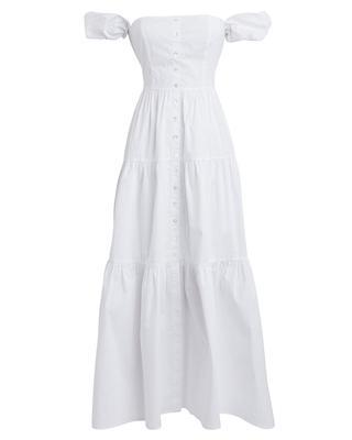 Elio Tiered Midi Dress