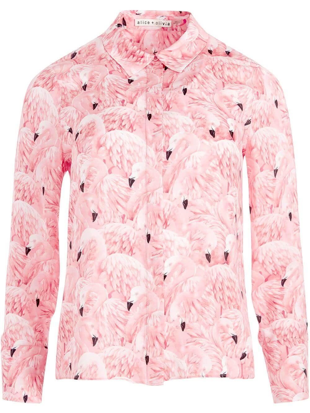 Willa Flamingo Top Item # CC104P02003