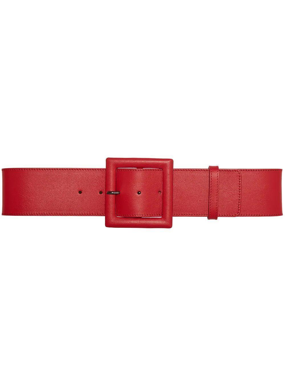 Square Buckle Belt Item # P2134N101LEA