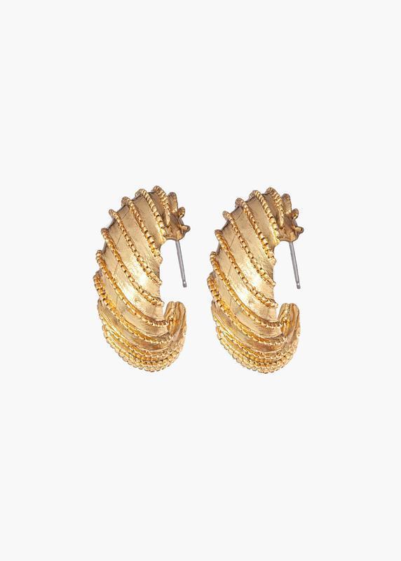 June Hoop Earrings Item # 111RA21