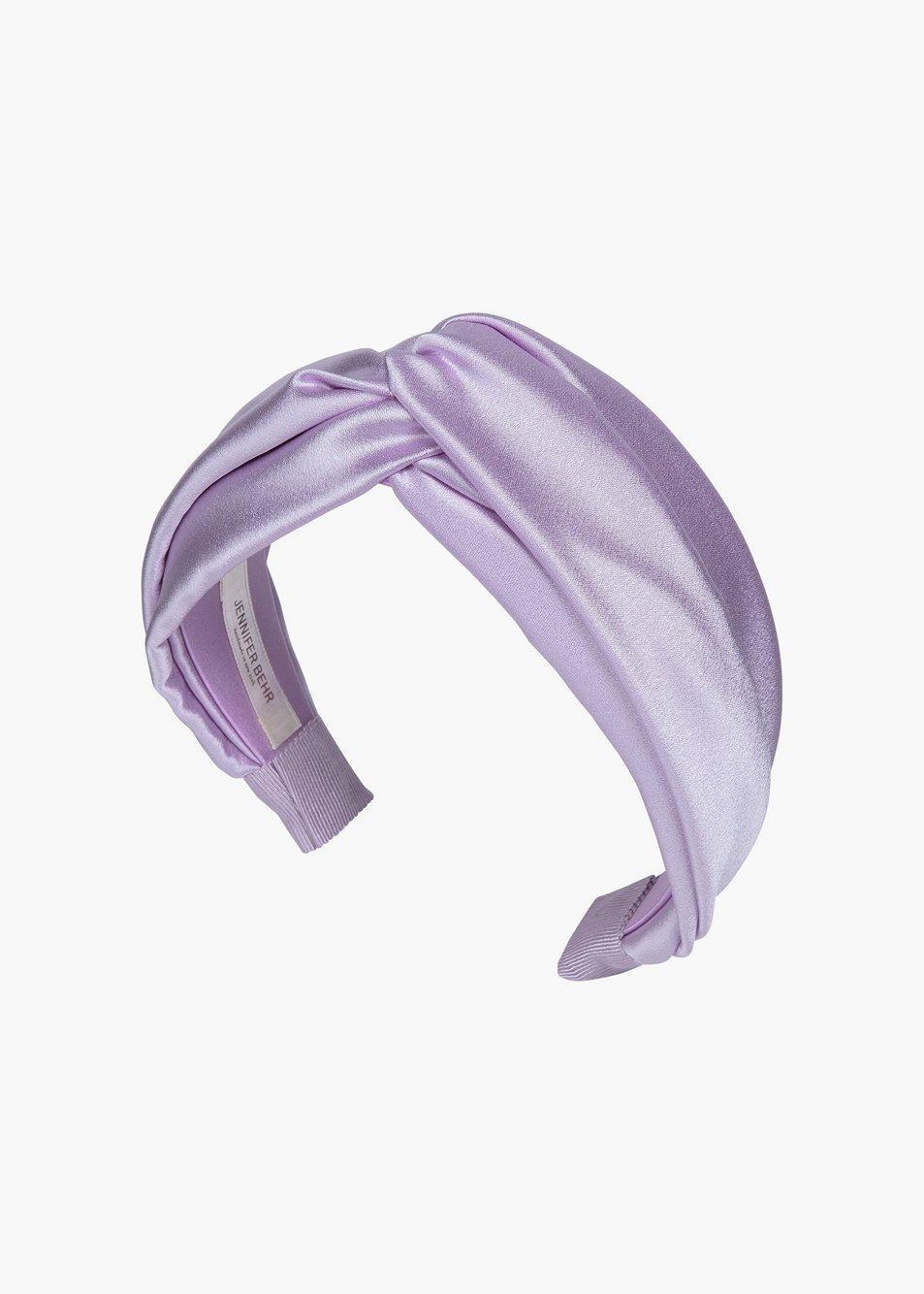 Silk Satin Twist Headband