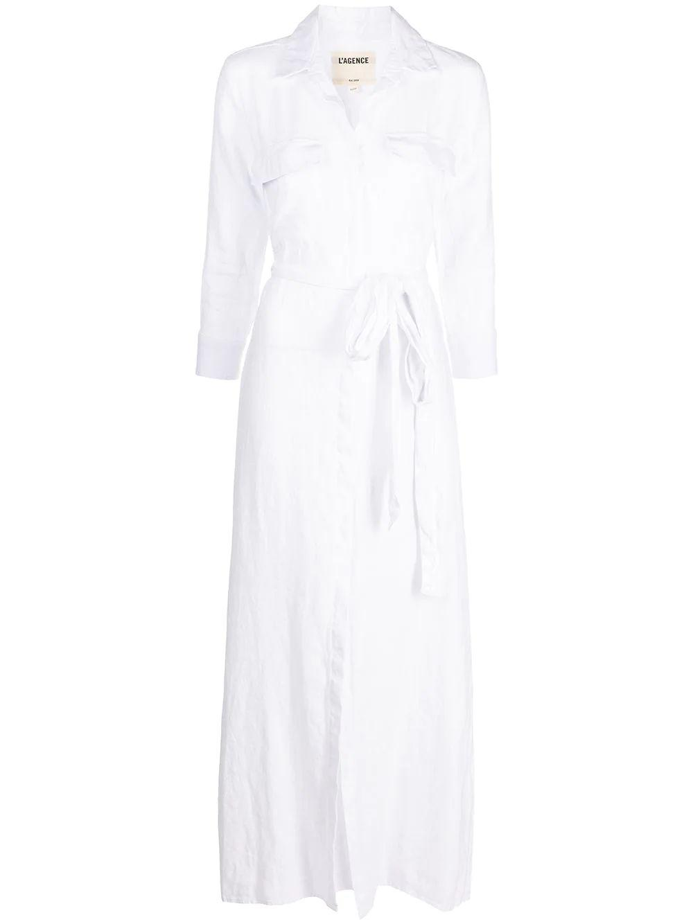 Cameron Long Shirt Dress Item # 60466FLI