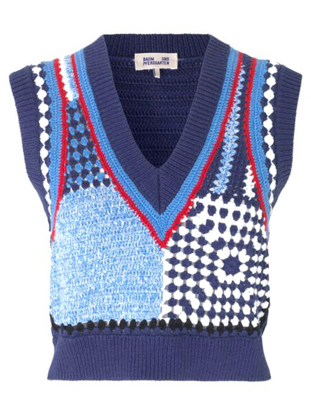 Cicilla Sweater Vest Item # 21693