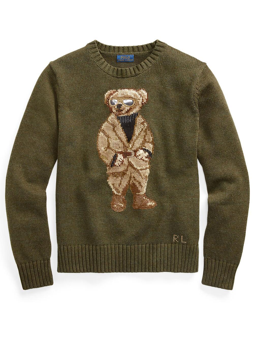Safari Bear Sweater Item # 211839022001