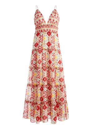 Karolina Printed Maxi Dress